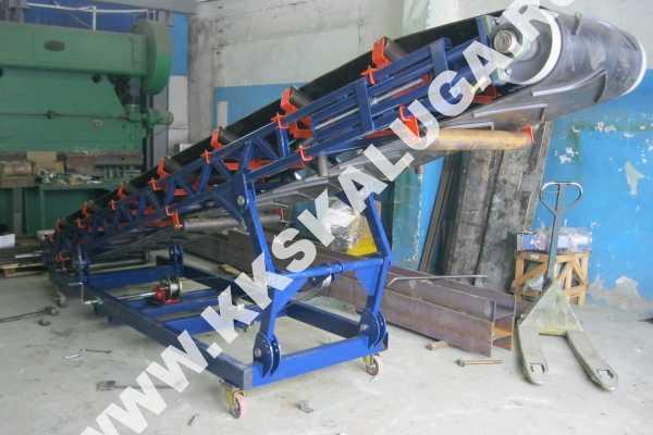 Ленточный конвейер с изменяемым углом наклона ленточный конвейер в промышленности