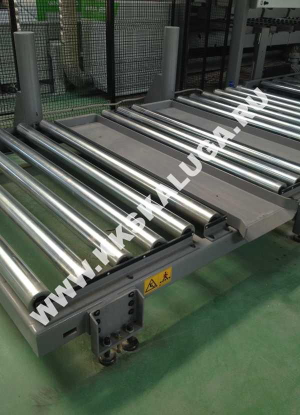 О приводных рольгангах конвейер подачи бетонной смеси